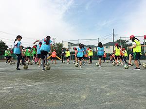 小学校体育巡回授業