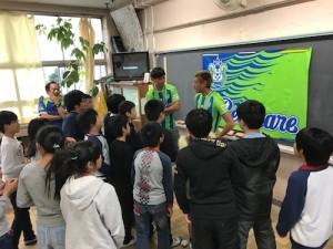 【城島小5-1】○×クイズ出題山根